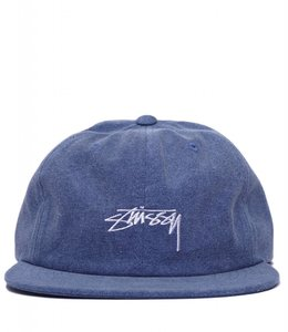 STUSSY OXFORD CANVAS STRAPBACK