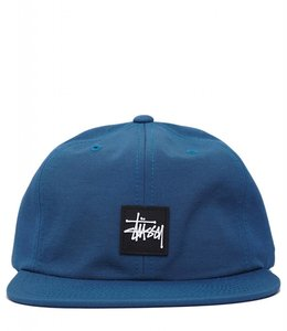 STUSSY RUBBER PATCH HAT
