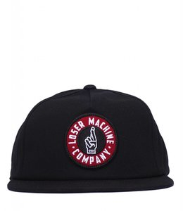 LOSER MACHINE GOOD LUCK SNAPBACK HAT