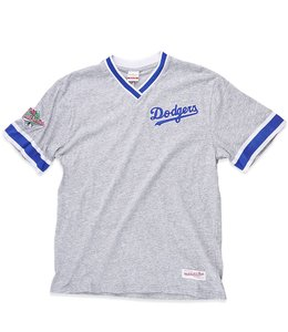 MITCHELL AND NESS DODGERS OVERTIME WIN TOP
