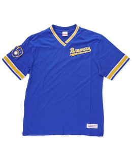 MITCHELL AND NESS BREWERS OVERTIME WIN TOP
