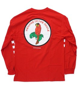 KNOW BAD DAZE WELCOME TO THE JUNGLE LS TEE
