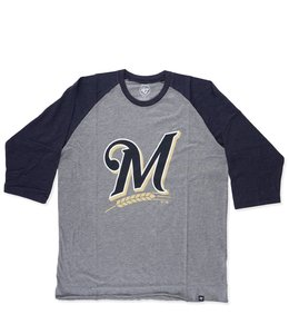 '47 BRAND BREWERS IMPRINT CLUB RAGLAN