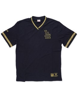 MITCHELL AND NESS M&N DODGERS OVERTIME WIN VINTAGE TOP