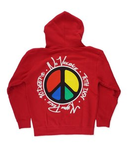 10.DEEP NO VIOLENCE KNOW PEACE HOODIE