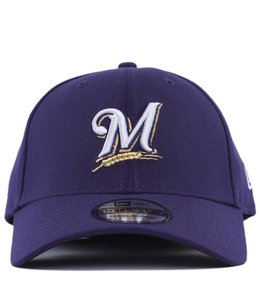 NEW ERA MILWAUKEE BREWERS TEAM CLASSIC 39THIRTY STRETCH FIT HAT