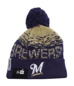 NEW ERA MILWAUKEE BREWERS ON FIELD SPORT KNIT