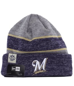 NEW ERA MILWAUKEE BREWERS 18 SPORT KNIT