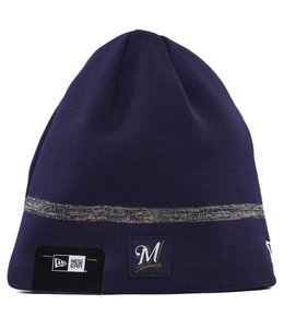 NEW ERA MILWAUKEE BREWERS CLUBHOUSE KNIT