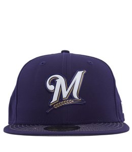 NEW ERA MILWAUKEE BREWERS MLB BATTING PRACTICE PROLIGHT 59FIFTY FITTED