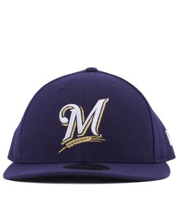 NEW ERA MILWAUKEE BREWERS AUTHENTIC COLLECTION 59FIFTY FITTED