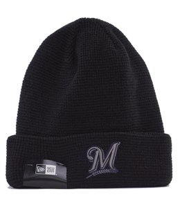 NEW ERA MILWAUKEE BREWERS POP WAFFLER KNIT