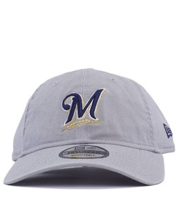 NEW ERA MILWAUKEE BREWERS CORE CLASSIC  ADJUSTABLE HAT