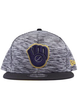 NEW ERA MILWAUKEE BREWERS SHADOW FADE 9FIFTY SNAPBACK