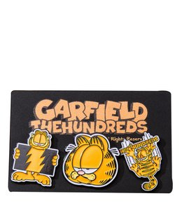 THE HUNDREDS x GARFIELD PIN SET