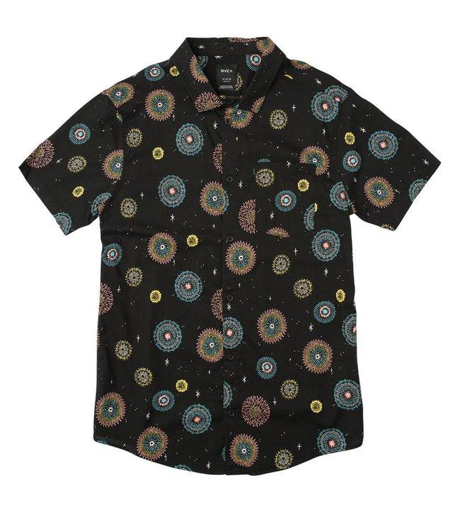 RVCA Fireworks Pelletier Printed Shirt