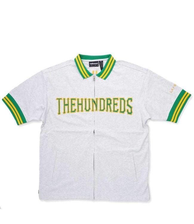 THE HUNDREDS Club Short Sleeve Zip-Up Jersey