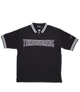 THE HUNDREDS CLUB SHORT SLEEVE ZIP-UP JERSEY