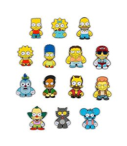 KIDROBOT THE SIMPSONS ENAMEL PIN SERIES