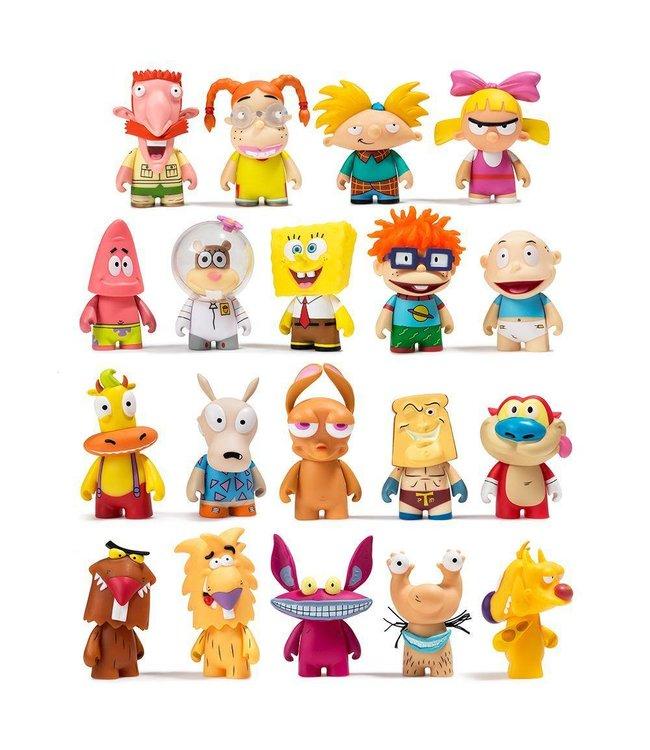 KIDROBOT Nickelodeon Nick 90s Blind Box Mini Figures