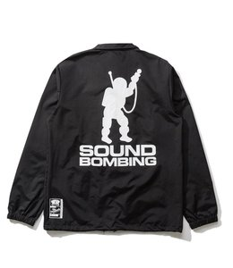 THE HUNDREDS X RAWKUS SOUND BOMBING COACHES JACKET