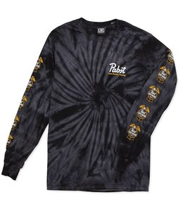 LOSER MACHINE X PBR 12 PACK TIE DYE LONG SLEEVE TEE