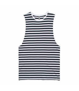 ASCOLOUR BARNARD STRIPE SLEEVELESS TEE