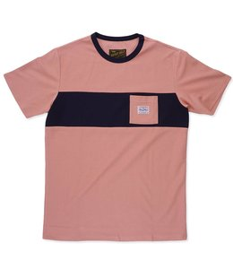 BENNY GOLD TERRY TERRACOTTA PREMIUM POCKET TEE