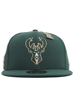 NEW ERA MILWAUKEE BUCKS 2018 DRAFT 9FIFTY SNAPBACK