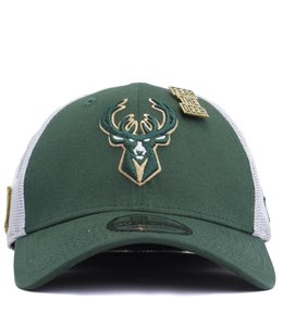 NEW ERA MILWAUKEE BUCKS 2018 DRAFT 39THIRTY FITTED HAT