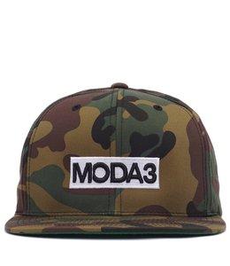 MODA3 BOX LOGO SNAPBACK HAT
