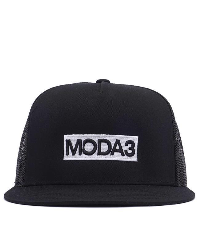 MODA3 Box Logo Trucker Hat