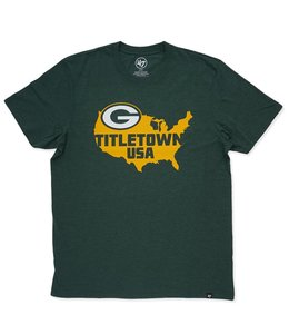 '47 BRAND PACKERS TITLETOWN USA TEE