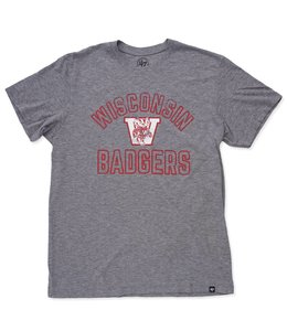 '47 BRAND BADGERS HOLLOW ARCH TEE