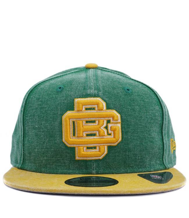 NEW ERA Packers GB Rugged Snapback Hat
