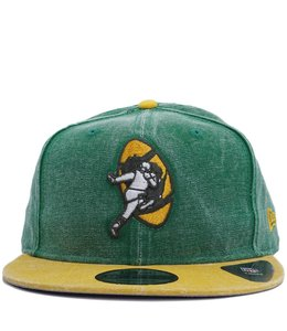 NEW ERA PACKERS LEGACY RUGGED SNAPBACK HAT