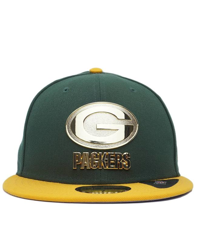 NEW ERA Packers Golden Finish Fitted Hat