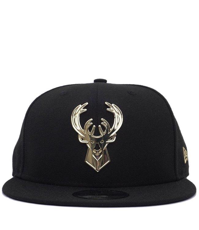 NEW ERA Bucks Metal Framed Snapback Hat