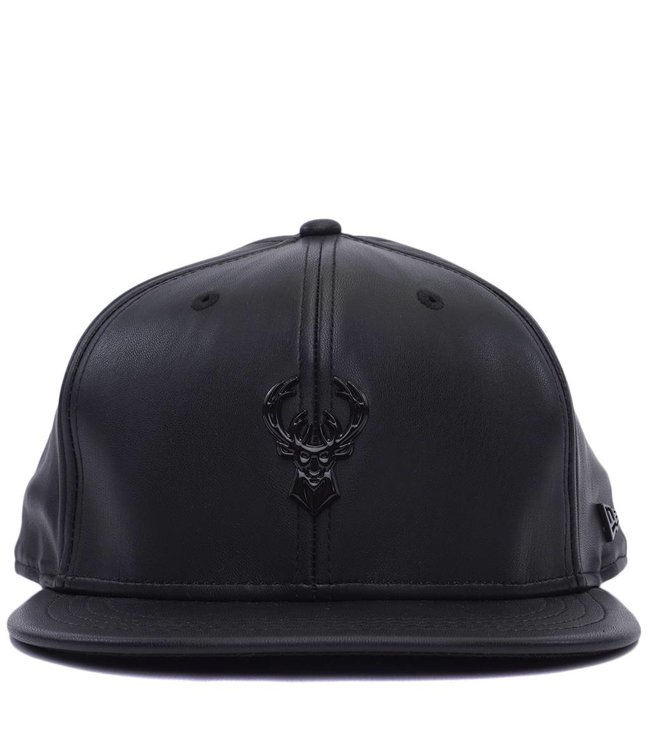 NEW ERA Bucks Glossy Metal Snapback Hat