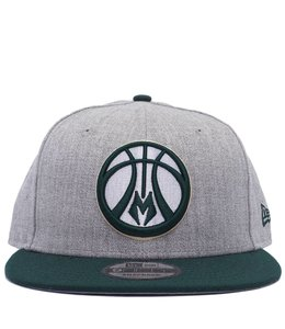 NEW ERA BUCKS HEATHER 2-TONE SNAPBACK HAT