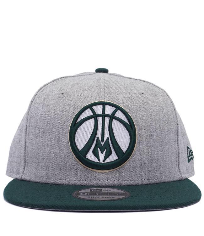 NEW ERA Bucks Heather 2-Tone Snapback Hat