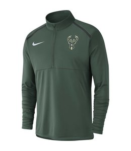 NIKE BUCKS DRI-FIT 1/2 ZIP TOP