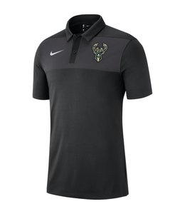 NIKE BUCKS STATEMENT POLO SHIRT