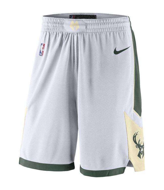 NIKE Bucks Association Swingman Shorts
