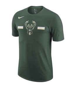 NIKE BUCKS DRI-FIT PRIMARY LOGO TEE