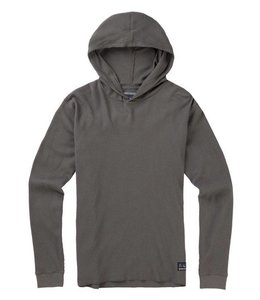 BURTON DUNTIME WAFFLE HOODED LONG SLEEVE TEE
