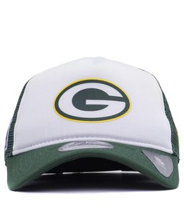 NEW ERA PACKERS TRUCKER HAT