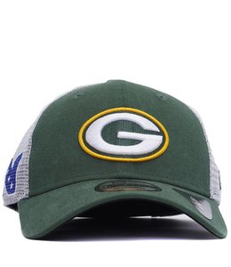 NEW ERA PACKERS DUEL TRUCKER HAT