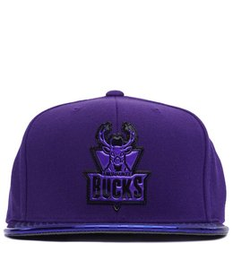 MITCHELL AND NESS BUCKS TEAM STANDARD SNAPBACK HAT