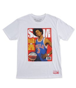 MITCHELL AND NESS SLAM COVER TEE - ALLEN IVERSON